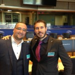 Jonathan Borg - Vice Président Exectif JCI Europe (à gauche)